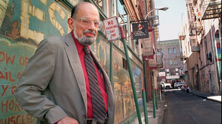 Allen Ginsberg: Poets are damned but see with the eyes of angels.