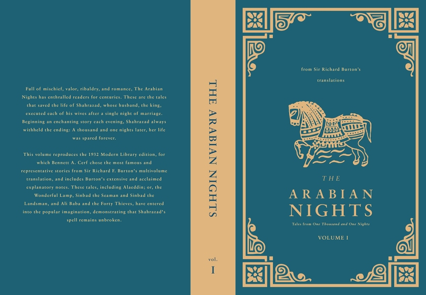 The Arabian Nights -- Book cover