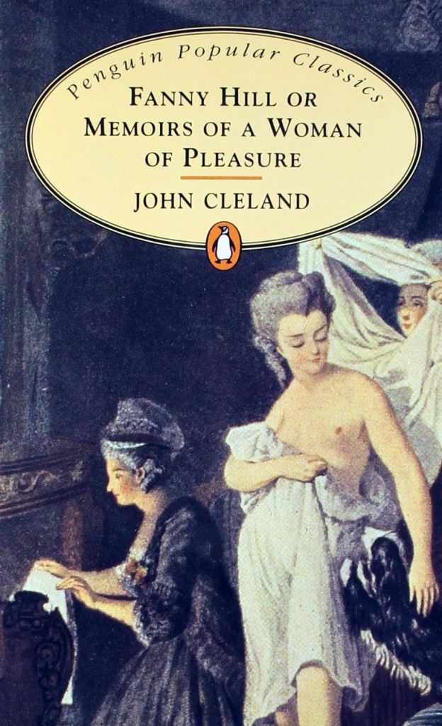 Memoirs of a Woman of Pleasure -- Book cover