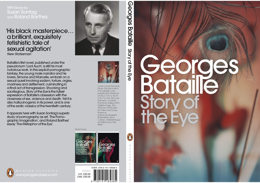 Story of the eye -- Book cover