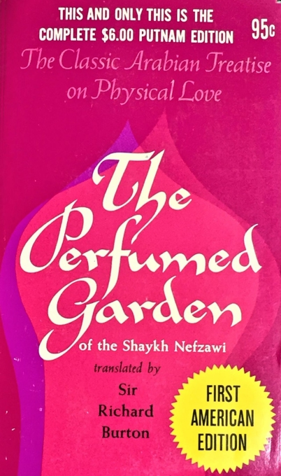 The perfumed garden -- Book cover